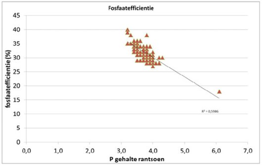 Fosfaat efficientie